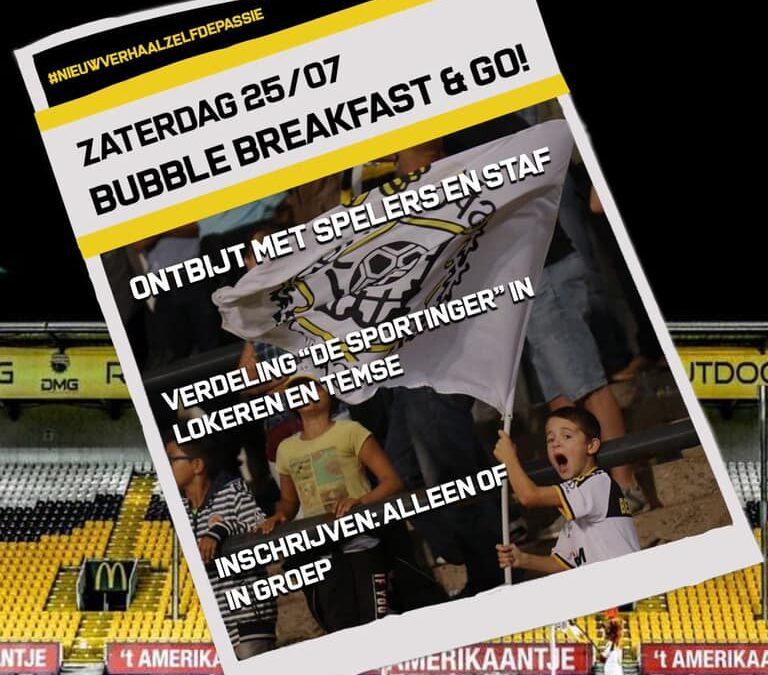 Collectief en Lokeren-Temse organiseren 'Bubble Breakfast and Go'